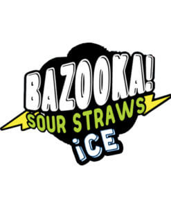 Bazooka Sour Straws ICE